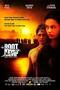 Boot Camp Movie Poster (11 x 17 Inches - 28cm x 44cm) (2007) Style A -(Mila Kunis)(Gregory Smith)(Peter Stormare)(Regine Nehy)(Alejandro Rae)(Christopher Jacot)