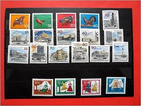 Briefmarken Berlin 1965 Komplett Postfrisch Michel 250 269