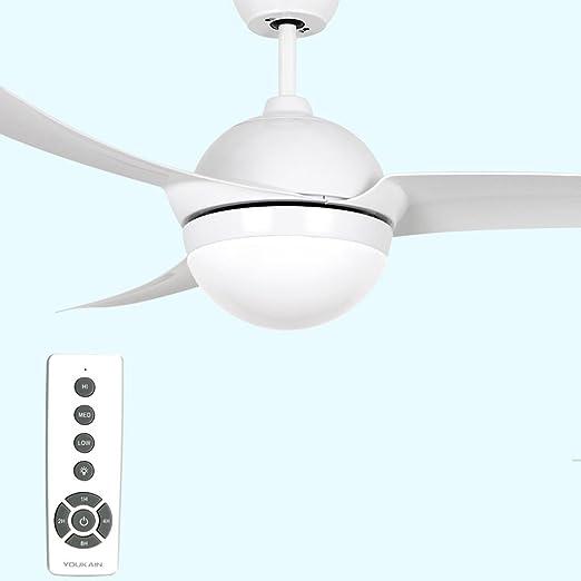 Luces de ventilador de techo de restaurante Luces de ventilador ...