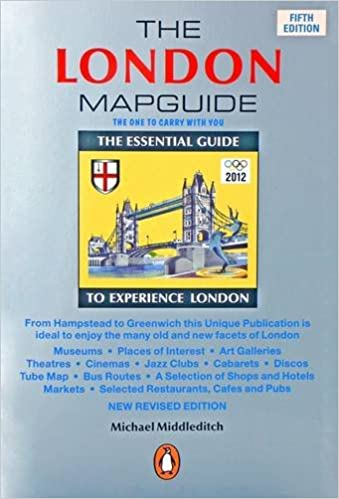 The London Mapguide Amazoncouk Michael Middleditch - London map guide