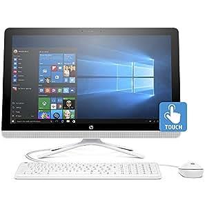 """HP 24-g020 23.8"""" All-In-One Desktop (AMD A8-7410, 8GB RAM, 1 TB HDD, Windows 10 Home)"""
