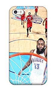 Diy Yourself Durable Protector case cover With Oklahoma City Thunder Basketball f6BUKMTgW1q Nba Hot Design For Iphone 5/5s