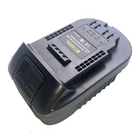 MT20DL Convertidor Adaptador USB Cargador para DeWalt Tool ...