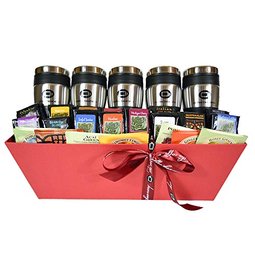 Coffee Beanery Office Party Gift Basket