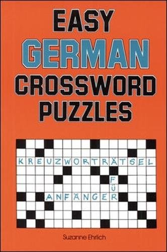 Easy German Crossword Puzzles (Language - German) (English and German Edition)