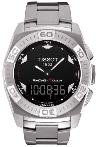 Tissot T-Touch Racing Stainless Steel Mens Watch T0025201105100 by Tissot