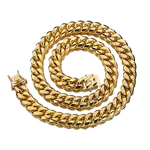W&W Lifetime Mens 24k Gold Plated 18