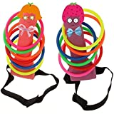Bachelorette Party Favor Girls Night Out Hen Party Games - Ring Toss Hoopla Games Set 2PCS