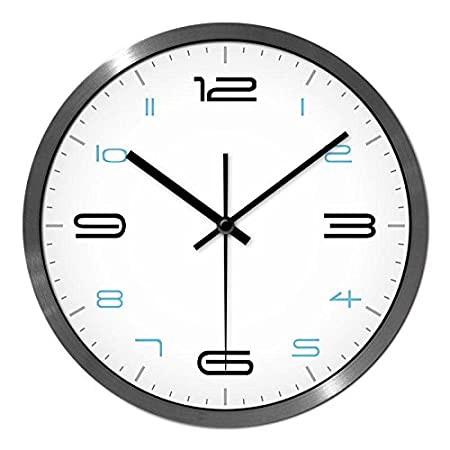Mute Wall Clock Large Home Decor Stylish Wall Clock Mute Modern Minimalist  Living Room Ideas