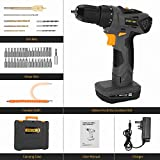 DETLEV PRO Cordless Drill Driver 21V Electric