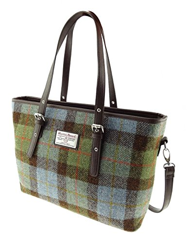 Ladies Genuine 100% Harris Tweed Tote Bag With Shoulder Strap 7 Colours Available LB1028 New Col 15