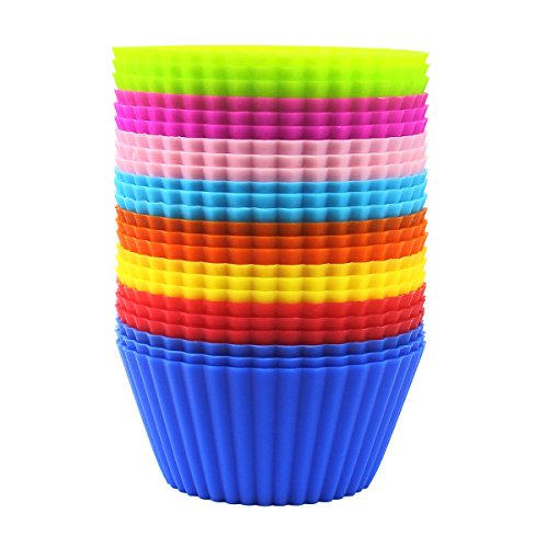 Eoonfirst Silicone Cupcake Liners Pack