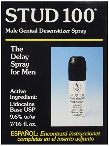 Stud 100 Male Genital Desensitizer Spray, 7/16- Fl. Ounce Box