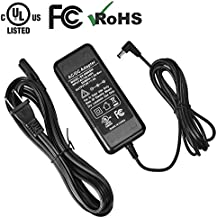 UTEBIT 8V DC Power Supply AC 500cm DC 200cm Cord 8V 5A 40W Switching Adapter DC 90 Degree Plug Inner Diameter 2.1mm Outer Diameter 5.5mm Fit for Yongnuo YN600L YN168 YN216 and Other LED Photo Light