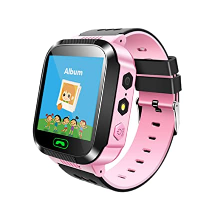 Amazon.com: Smart Watch Kids Smartwatch GPS Tracker SOS Call ...