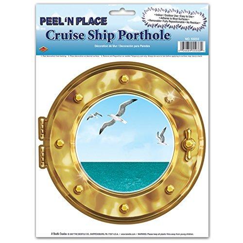 (Cruise Ship Porthole Peel N Place 12 x 15 Sh (Value)