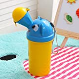 Miss.AJ Portable Baby Child Potty Urinal Emergency Toilet for Camping Car Travel and Kid Potty Pee Training: more info