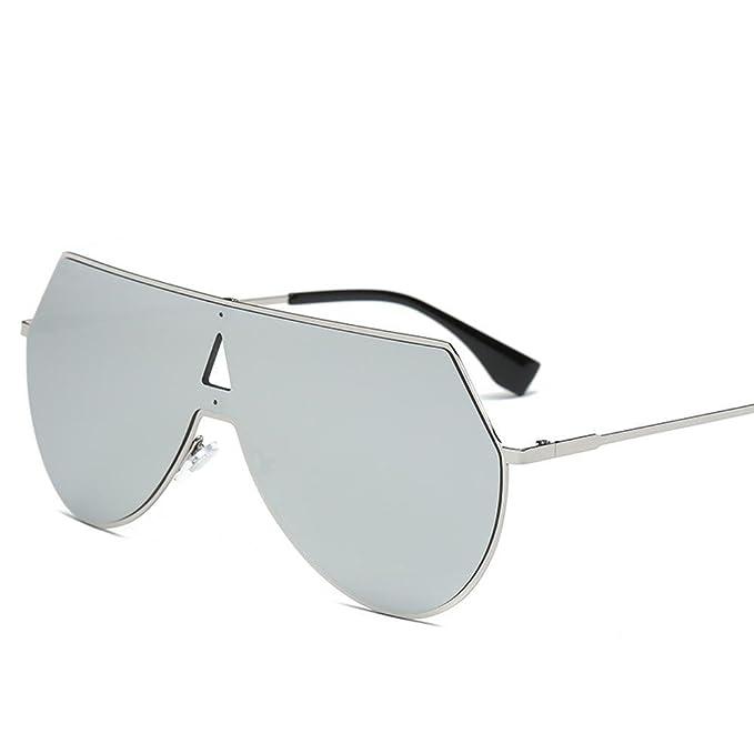 Aoligei All-in-One Sonnenbrille, männlich und weiblich, bunte reflektierenden Sonnenbrille Mode Sonnenbrillen