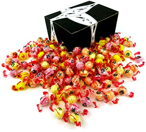 Napoleon Fruit Mix Hard Candy, 2 lb Bag in a BlackTie Box