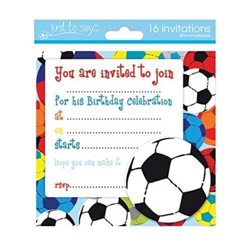 16 x Boys Birthday Invite Party Invitations With Amazoncouk – Boys Birthday Invitation