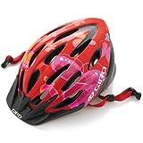 Giro Flume Youth Bike Helmet (Red Butterflies, Youth)