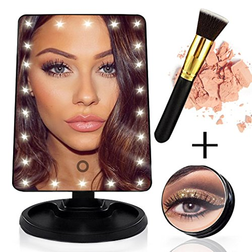 Lighted Vanity Cosmetic Foundation Included product image