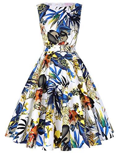 Belle Poque Retro Dress Multi Colored product image