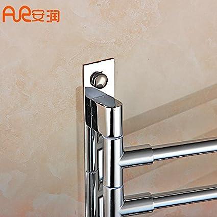 sydlj girar la palanca de acero inoxidable toallero toallas de baño toallitas WC palanca WC soporte