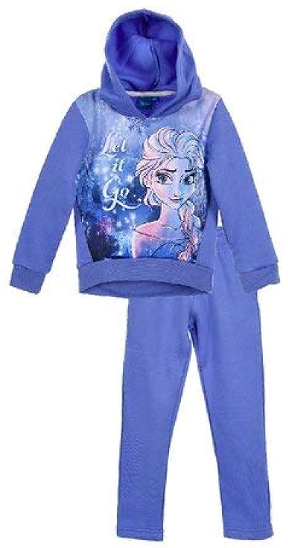 Reine des Neiges Frozen - Jogging con Capucha para niña Bleu Lila ...