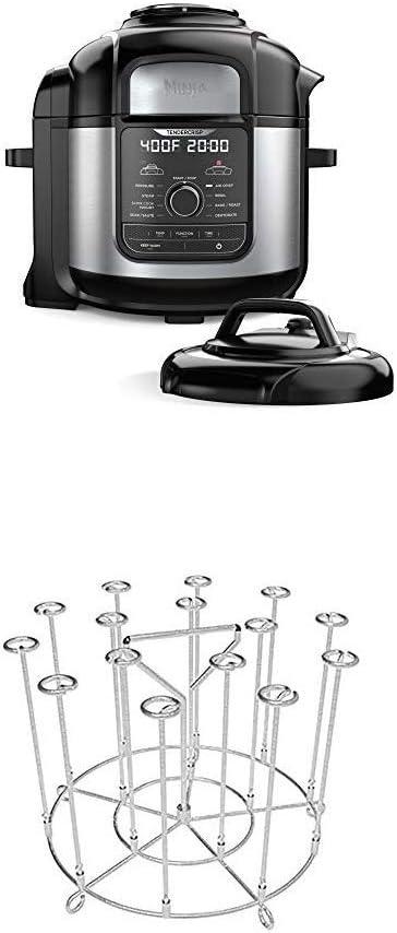 Amazon Com Ninja Fd401 Foodi 8 Qt 9 In 1 Deluxe Xl Cooker Air