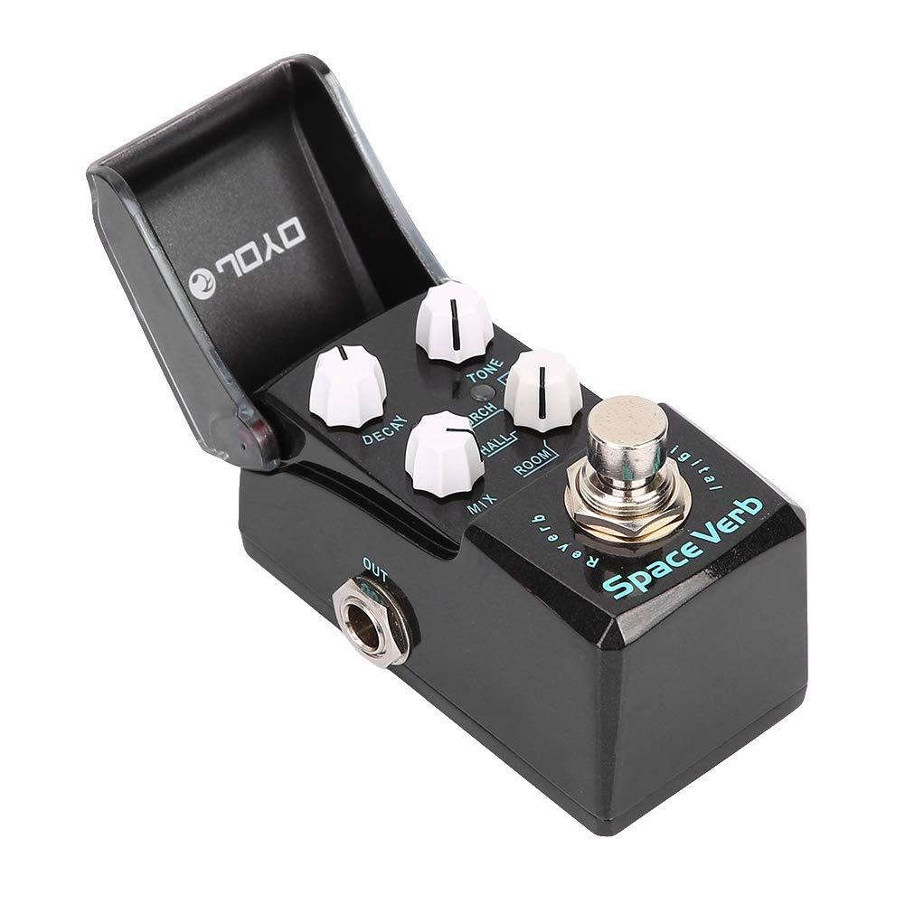 Joyo JF-317 Pedal de Efecto de reverberaci/ón Mini Space Piezas de Repuesto de Guitarra el/éctrica Reverb RiToEasysports Pedal de Efectos de Guitarra
