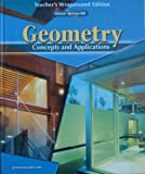 img - for Glencoe McGraw-Hill Geometry Concepts and Applications Teacher's Wraparound Edition book / textbook / text book