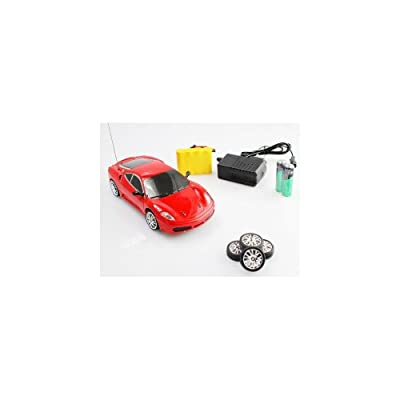 1:24 RC Ferrari F430 Drift Car Remote Control Car with Rechargeable Batteries: Toys & Games
