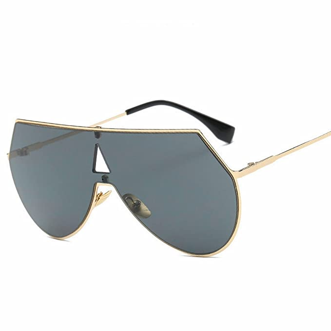 siamese farbe Linse sonnenbrille Große rahmen rahmen Männer sonnenbrille metall sonnenbrille Weiß und Weiß YgkSK5Gd