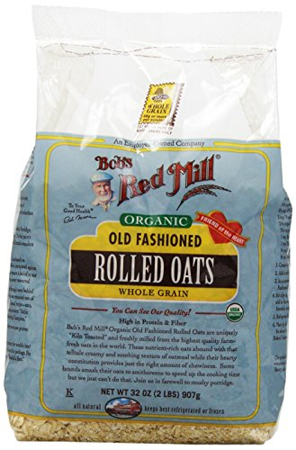 Organic Old Fashioned Rolled Oats by Bob's Red Mill 32 oz