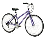 KENT Women's Avondale Hybrid Bicycle with Sure Stop Brakes, 11.25'