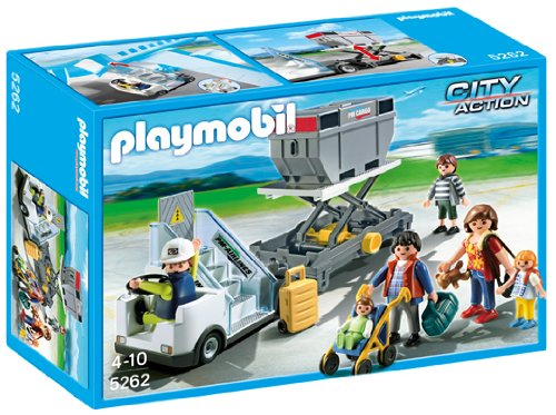 - PLAYMOBIL® Aircraft Stairs with Passengers and Cargo