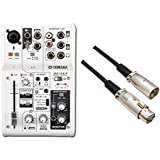 【ケーブル付】YAMAHA 3チャンネルミキサー AG03 + audio-technica ATL458A/3.0 セット