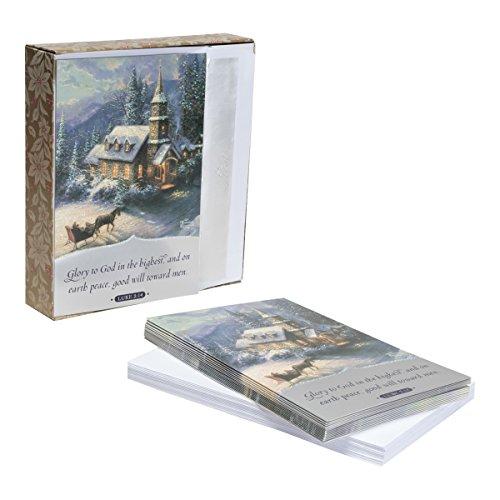 Thomas Kinkade - Christmas Boxed Cards Good Will Toward Men (Thomas Kinkade Christmas Cards)