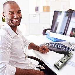 Onotio Heavy Duty 100 Sheet High Capacity Office Desk Stapler with 1000 Box Staples