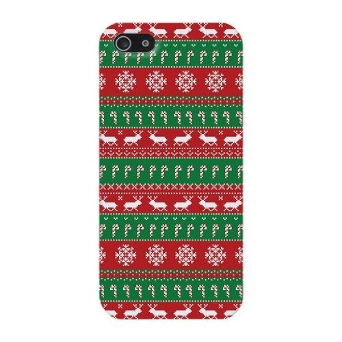 Deers & Snow Christmas Hard Case Cover iPhone 5C