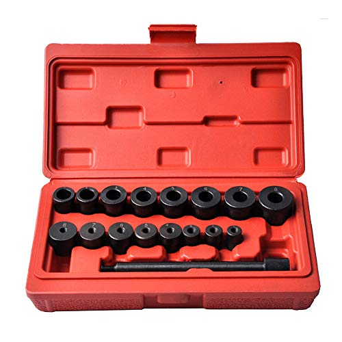 MIKKUPPA Universal 17 Pcs Clutch Alignment Tool Kit, Aligning Bearinng Transmission for Ford, Toyota, Honda, Mazda, Nissan, VW
