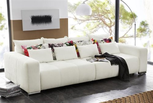 Kasper Wohndesign Cosmos Big Sofa Alcatop Weiss Online Bestellen