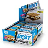 BPI Sports Best Protein Bar, S'mores, 12 Count - 20g Ideal Protein Mix