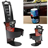 Foldable Car Drinks Cup Holder, Van Truck Cup Drink Holder Beverage Bottle Can Bracket Stand Mount Auto Supplies
