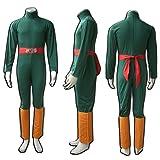 Dazcos Naruto Rock Lee 1st Ver Cosplay Costume (Men M)