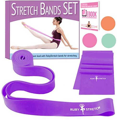 ercise and Stretching Band Stretch Bands for Dancers Ballet Stretch Band - Dance Stretch Bands for Flexibility and Dance ()