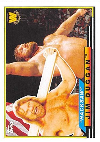 2018 Topps Heritage WWE Big Legends #BL-18 Hacksaw Jim Duggan Wrestling Trading Card