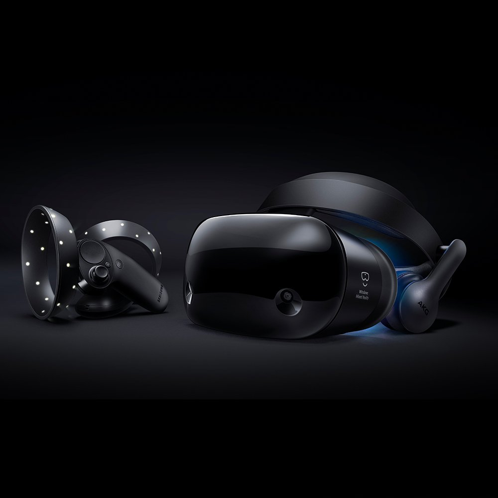 Samsung Hmd Odyssey Windows Mixed Reality Headset with 2 Wireless Controllers (XE800ZAA-HC1US) by Samsung (Image #2)