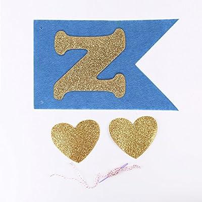 Amazon.com: SUNNY ZX un banderín de Banner Feliz cumpleaños ...